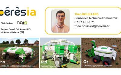 La robotique au service de l agriculture Naïo by Cérèsia