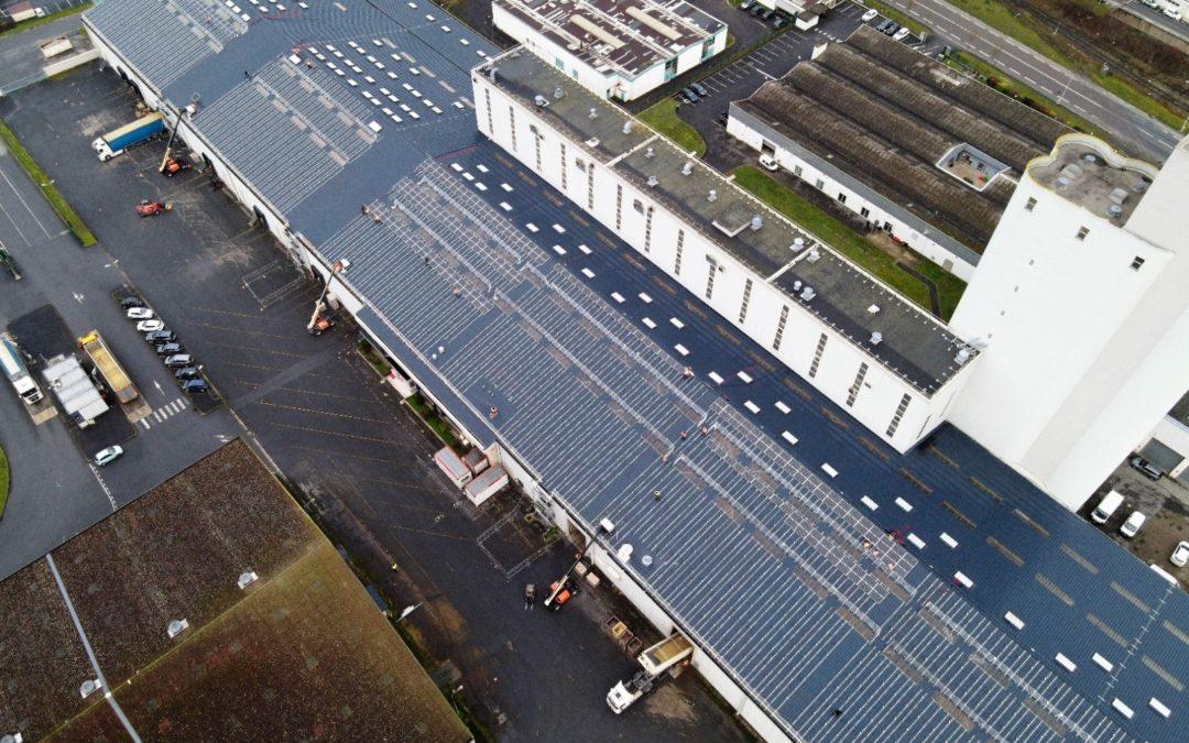 Photovoltaïque : Cérèsia poursuit sa démarche de production d'énergie durable